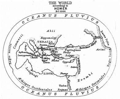 Lumea tracilor după Homer, Iliada