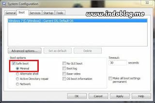 Cara Masuk Safe Mode Windows 7 Tanpa f8