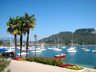The waterfront at Garda on Lake Garda