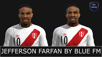 Face Jefferson Farfan pes 2013 pc BY BLUE FM