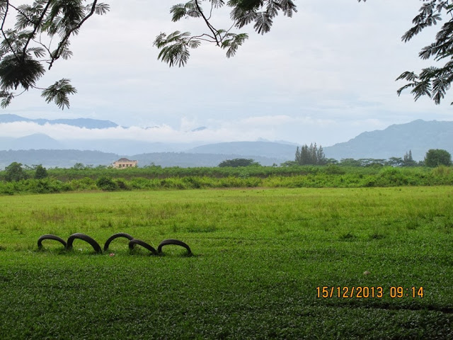 Pemandangan Hijau Perbukitan Citra Indah City
