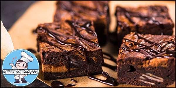 Resep dan Cara Membuat Brownies Panggang Coklat Lembut