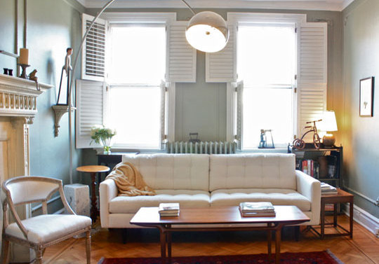 Valley Of The Vintage: How To Mix Vintage & Modern Furniture