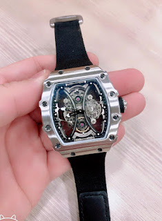 Jam Tangan Richard Mille body stainless hitam