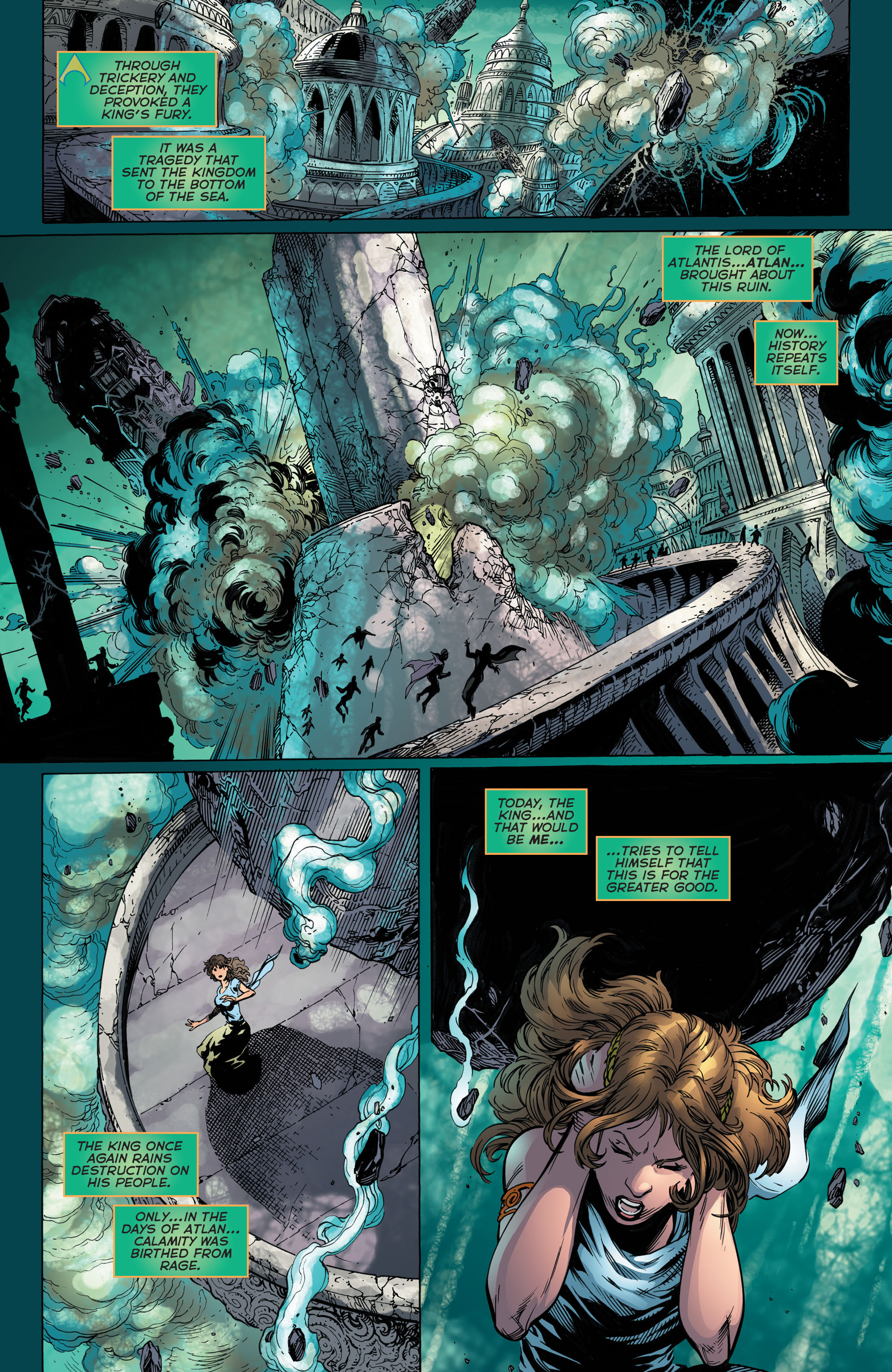 Read online Aquaman (2011) comic -  Issue #48 - 5