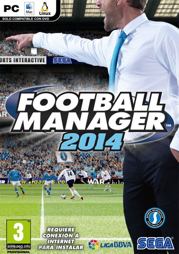 Descargar Football Manager 2014 (FM14) Para pc Full en 1 link iso gratis Español por mega y 1fichier version Reloaded + Medicina.
