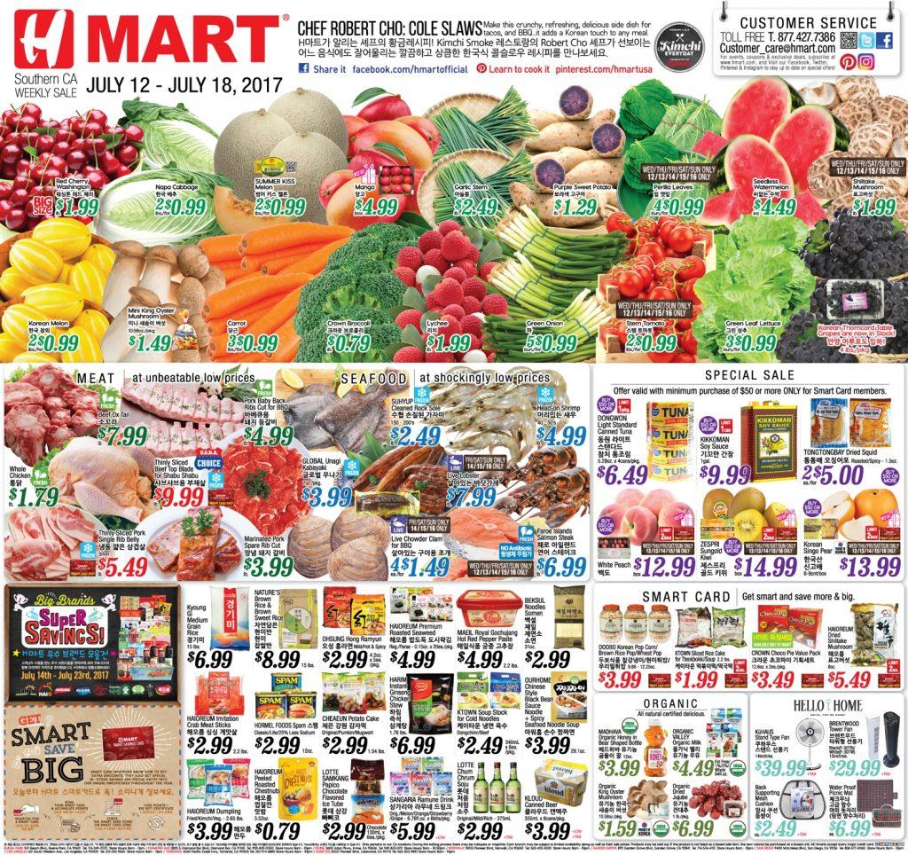 Sunday circular coupons