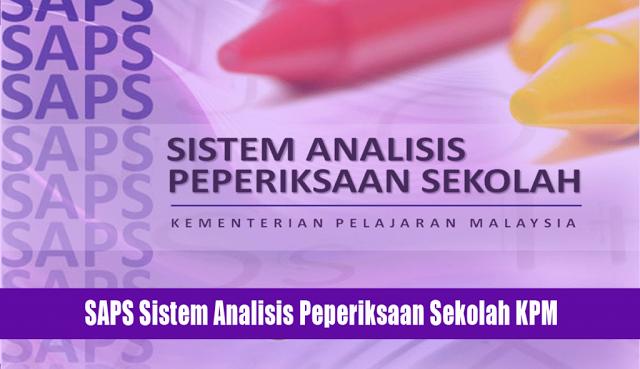 saps ibu bapa, sistem analisis peperiksaan sekolah, kementerian pendidikan malaysia, saps, semak keputusan peperiksaan, keputusan peperiksaan online
