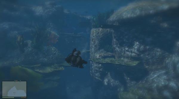 GTA 5 Diving Screenshot