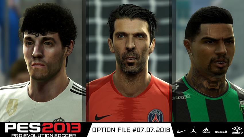 PES 2013 Next Season Patch 2019 Option File 12/08/2018Season