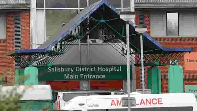Hospital de distrito de Salisbury, 10 de abril de 2018