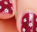 http://onceuponnails.blogspot.com/2015/04/small-daisies.html