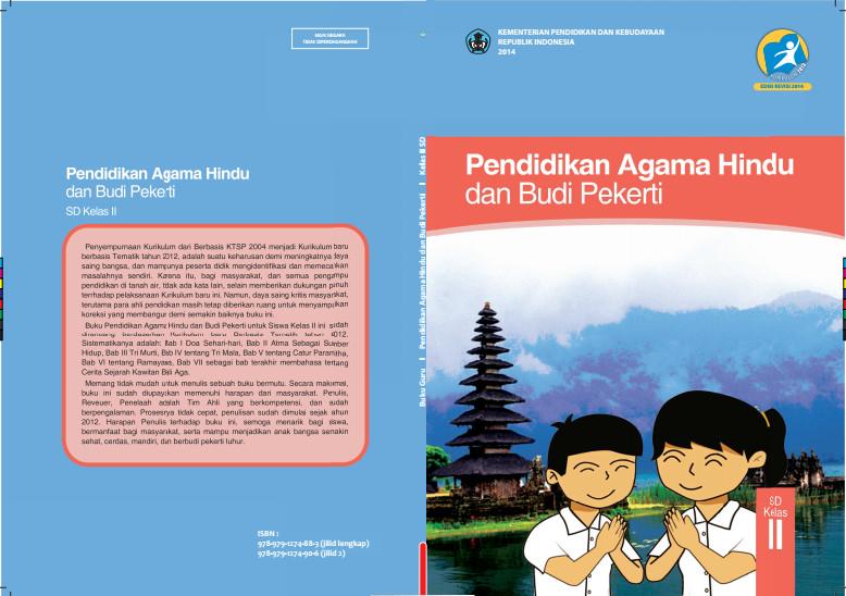 Download Gratis Buku Siswa Pendidikan Agama Hindu Dan Budi Pekerti Kelas 2 SD Kurikulum 2013 Format PDF