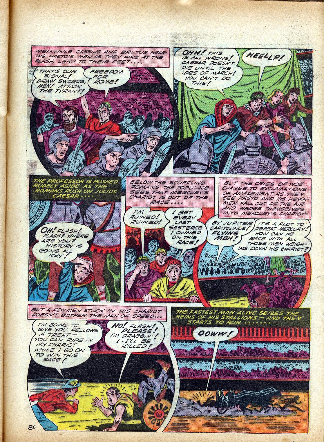 Read online All-Flash comic -  Issue #4 - 42