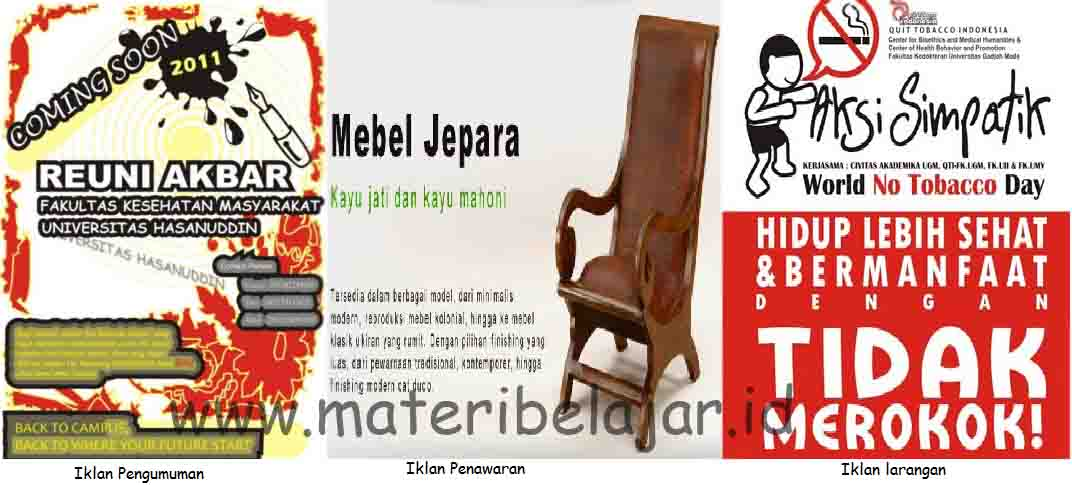 Nanjar Saputra Multimedia Advertising Jenis Jenis Iklan