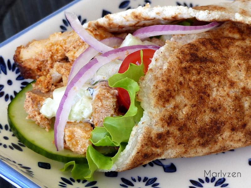 Gyros : sandwich à la grecque