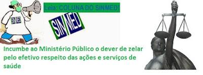 Ilustração : Logo SINMED e MP