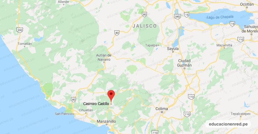 Temblor en México de Magnitud 4.0 (Hoy Sábado 07 Septiembre 2019) Sismo - Epicentro - Casimiro Castillo - El Chico - Jalisco - JAL. - SSN - www.ssn.unam.mx
