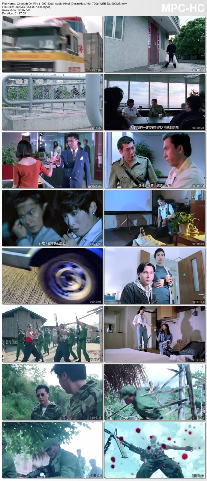 Cheetah On Fire (1992) UNRATED Dual Audio Hindi 720p WEB-DL 900MB Desirehub