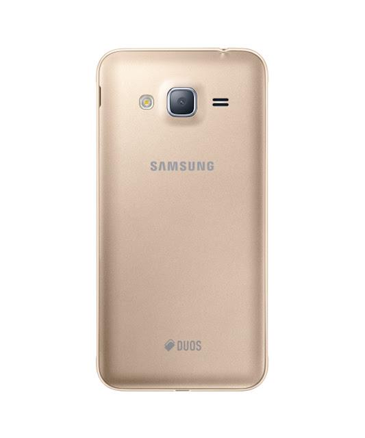 """samsung galaxy j3 2016 com câmera traseira de 8 mp, e tela de 5"""""""