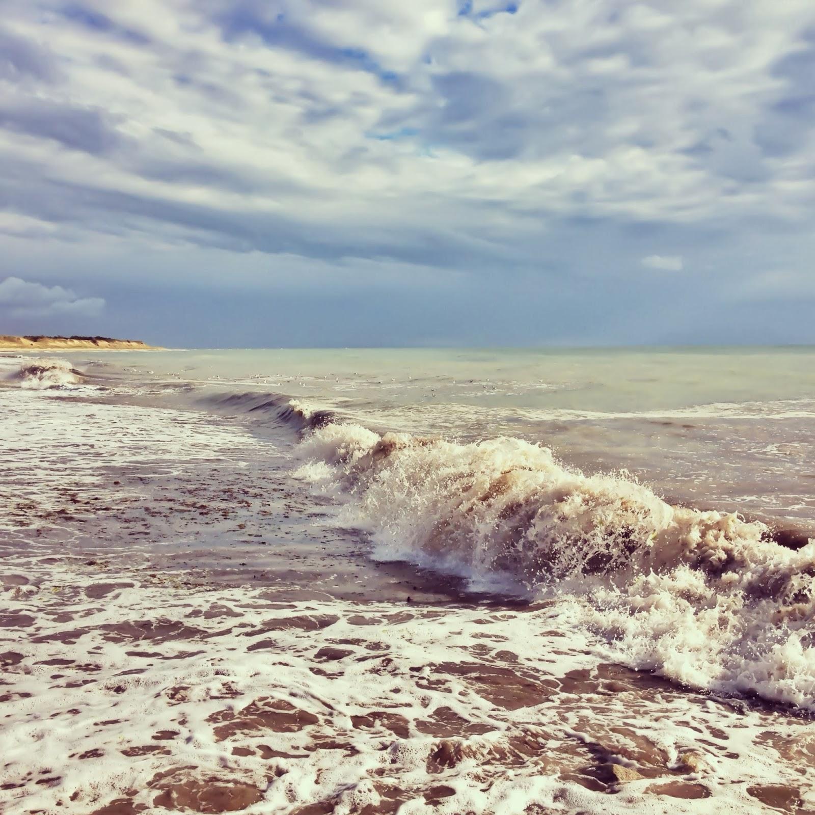 photo de la mer, la côte sauvage à St Clément les Baleine