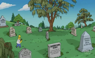 'The Simpsons' Hilariously Memorializes Clinton Campaign