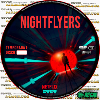 GALLETA NIGHTFLYERS TEMPORADA 1 2018 [COVER DVD]
