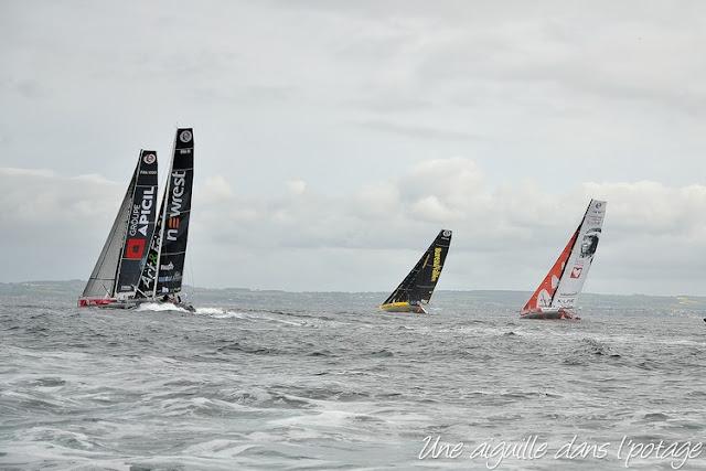"""départ de la course """"Bermudes 1000 race"""" (Douarnenez-Cascais)"""