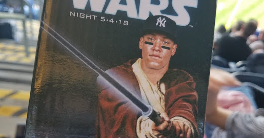 Yankees' Star Wars Night 2018