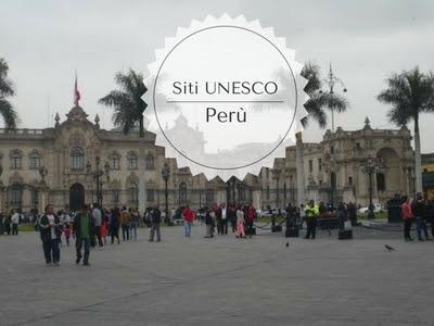 Perù siti Unesco: Plaza Mayor nella città di Lima