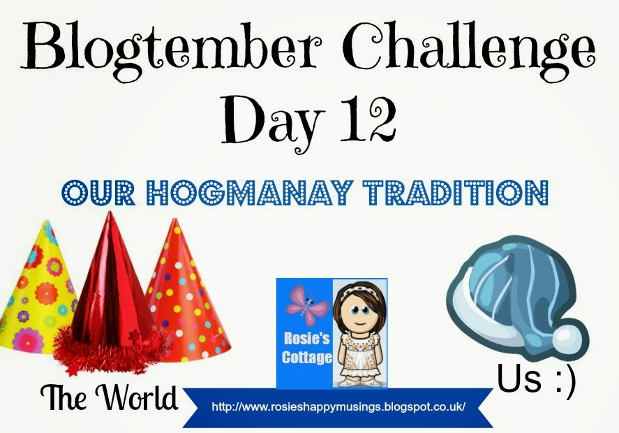 blogtember challenge tradition