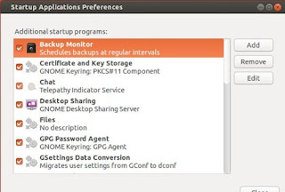 Prikaz skrivenih Startup aplikacija Ubuntu Linux trikovi