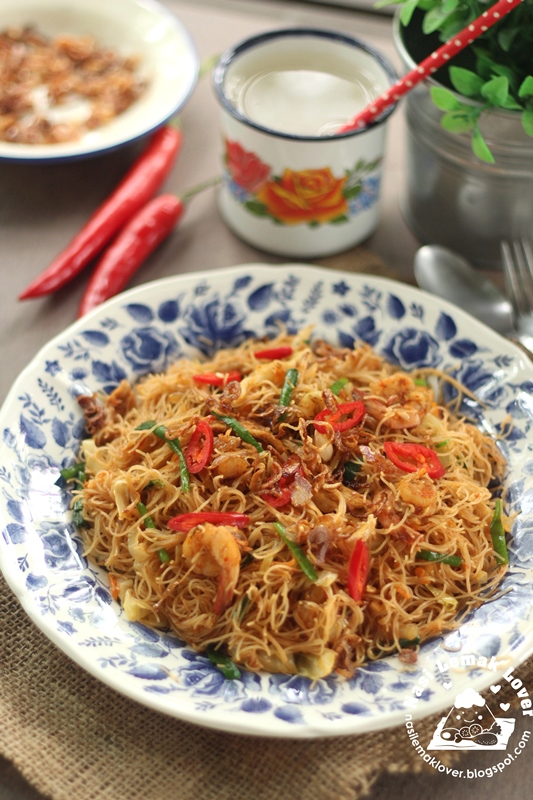 Malay Style Spicy Mee Hoon Goreng ???????