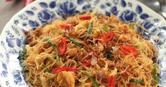 Nasi Lemak Lover: Malay Style Spicy Mee Hoon Goreng 马来香辣炒米粉