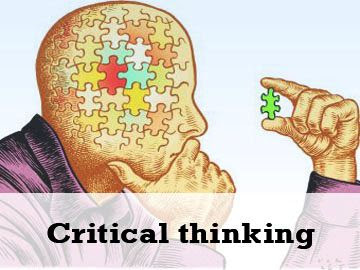 Critical thinking in science