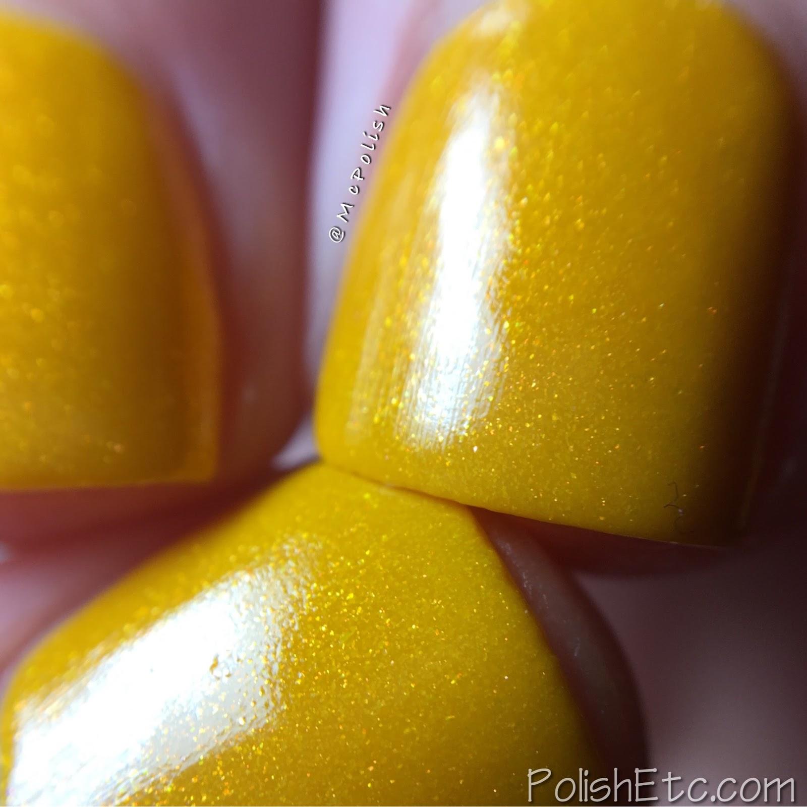 Lollipop Posse Lacquer - Kiki Vol II Collection - McPolish - Spilling Tea