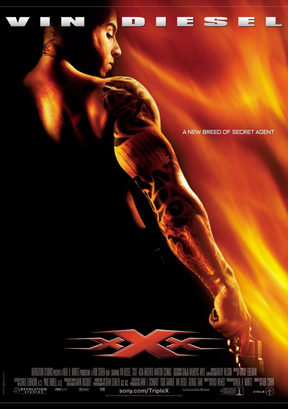 xXx (2002) [15th Anniversary Edition] ทริปเปิ้ลเอ็กซ์ พยัคฆ์ร้ายพันธุ์ดุ