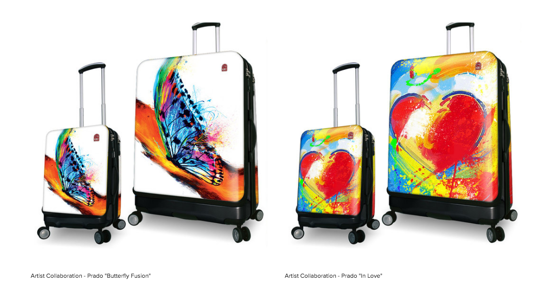 Lisa Mende Design: Best Smart Tech Carry-On Luggage for Travelers