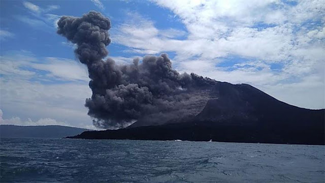 Letusan Gunung Anak Krakatau Masuki Tahap Akhir