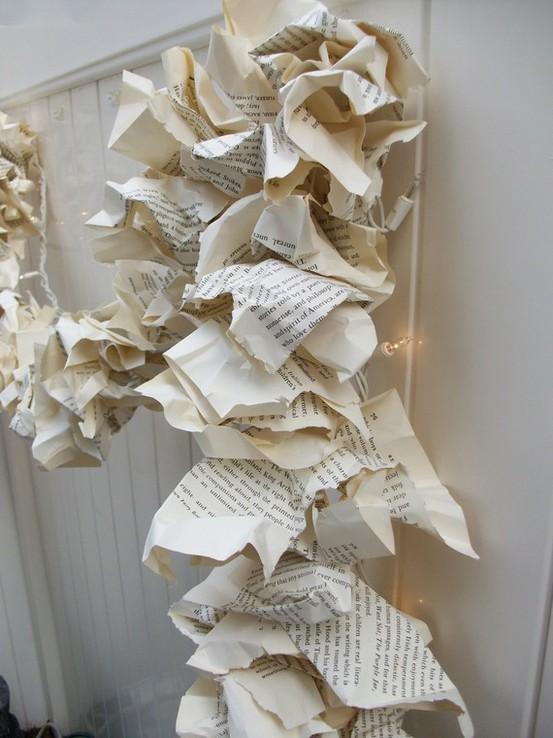 Esta navidad decora con papel ministry of deco - Adornos de navidad con papel periodico ...