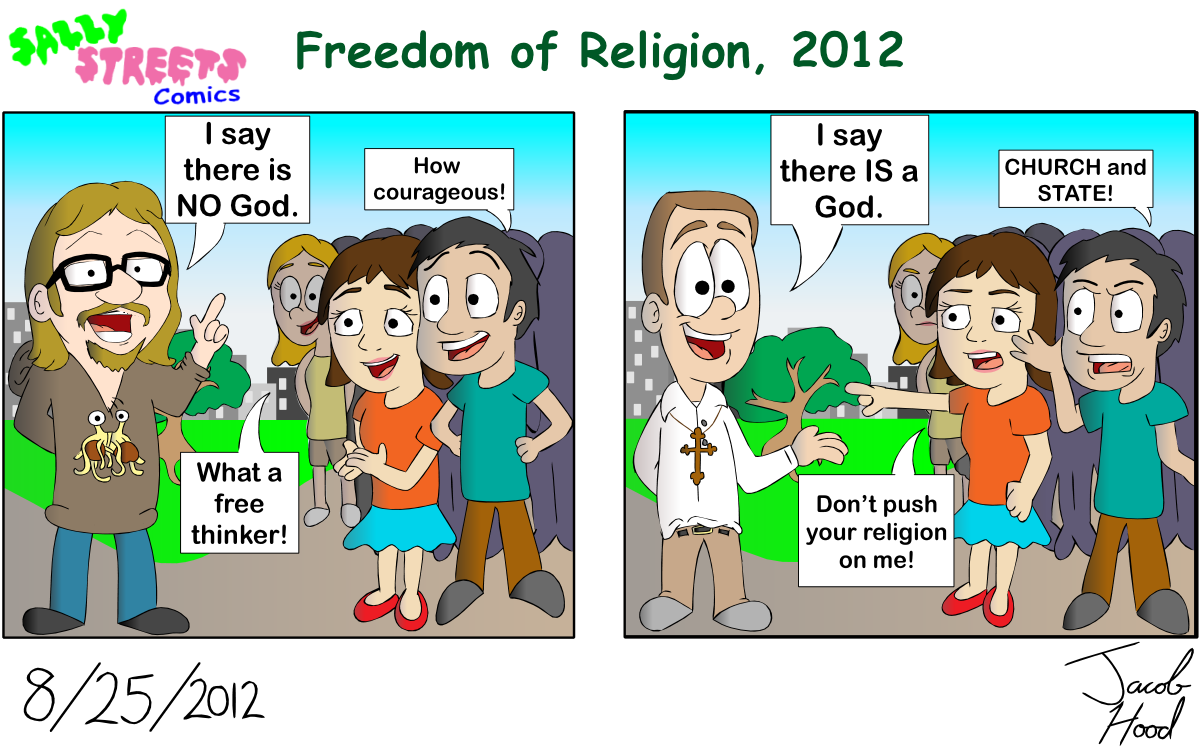 What in the World?: Freedom from religion?