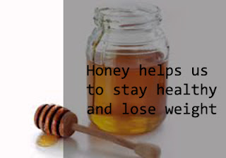 Health benefits with honey
