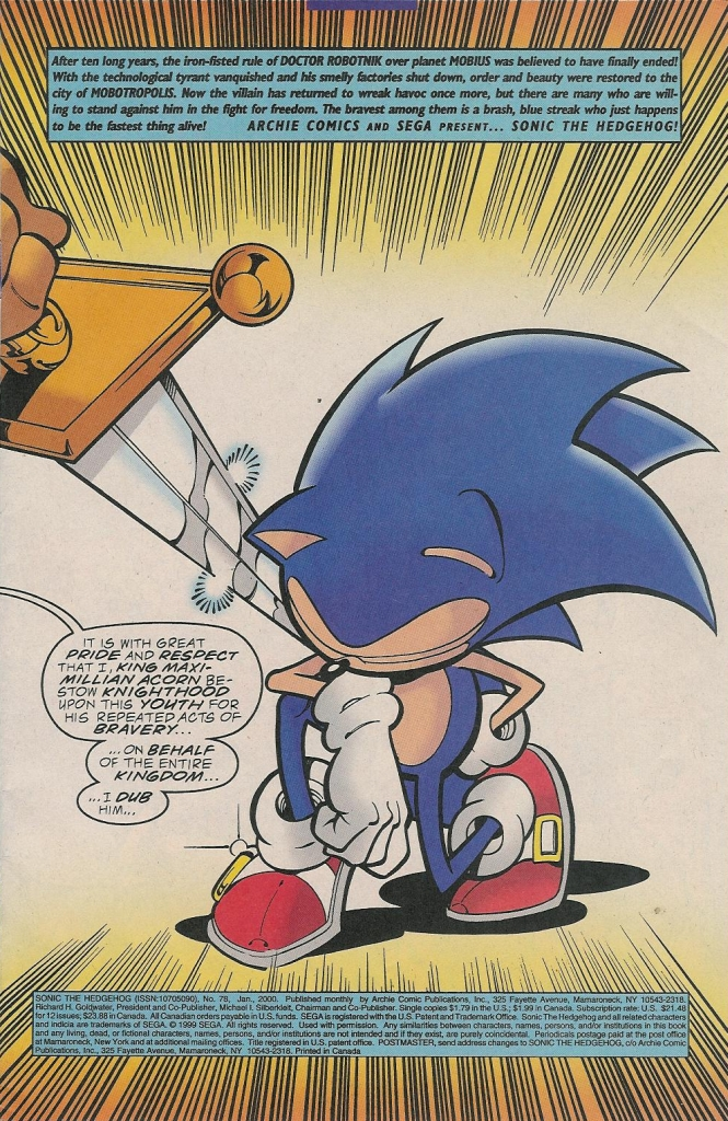 Read online Sonic The Hedgehog comic -  Issue #78 - 3