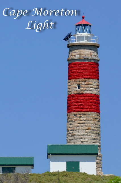 Cape Moreton Light Leuchtturm Fels Insel