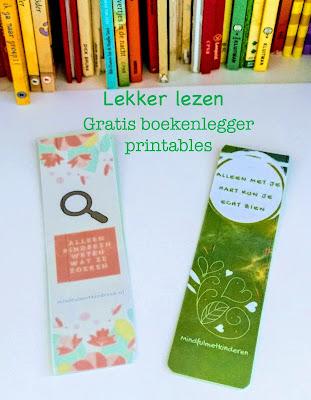 boekenlegger printable