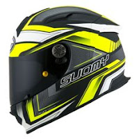 Suomy SR Sport Engine Matt Black Yellow Fluo