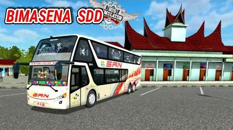 Download Livery Bimasena Sdd Bussid (Bus Simulator Indonesia) Mod Terbaru 2019