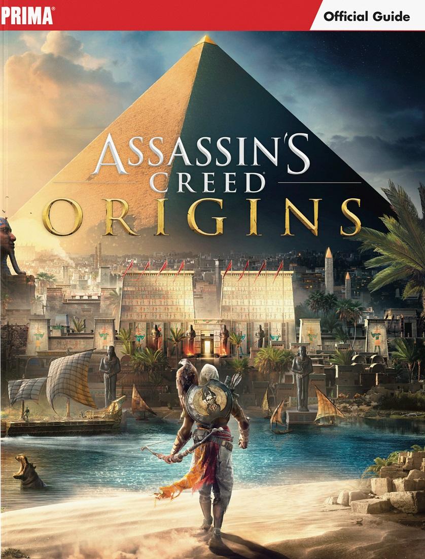 Assassin's Creed Origins contará con guía oficial el 3 de noviembre