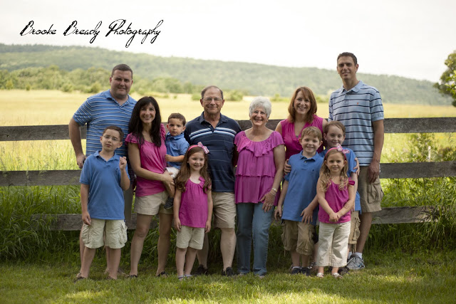 Brooke Bready Photography Pink Amp Blue Family Session
