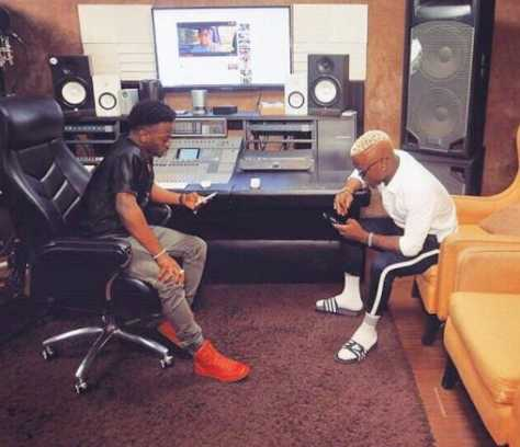 Tanzanian singer, Harmonize and Korede Bello Were Spotted Making Music in Mavins Studio
